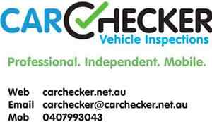 Carchecker used vehicle inspections Perth Perth City Area Preview