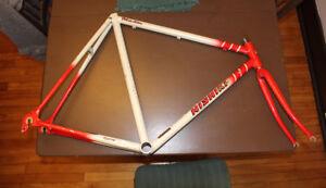 CADRE Nishiki TT track pursuit FRAMESET frame Karawara FUNNY