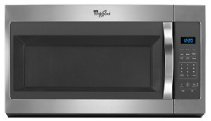 Whirlpool  1.7 cu. ft. Over the Range Microwave in Stainless Ste
