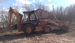 CATERPILLAR 416B Backhoe & Implements (Finance avail if needed)