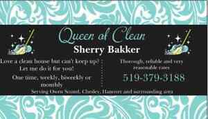 DON'T HAVE TIME TO CLEAN? LET ME DO IT FOR YOU!