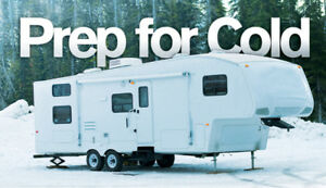 Trailer winterizing Moncton/Shediac Area
