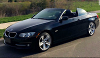 2011 BMW 328i HARD TOP CONVERTIBLE / LEATHER / NAVIGATION