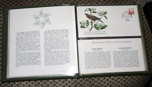 Stamps - 1978 Birds and Flowers of Canada LE 12 Cache FDC Set Kingston Kingston Area image 3