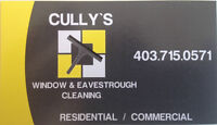 Cullys Window and Eavestrough Cleaning