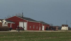 Farm, 24.5 acres, brick ranch, cooler, newer heated barn