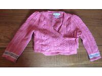 Ralph Lauren wrap sweater size 18 months