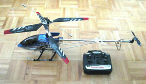 """Huge Sky King 3.5 Channel RC Helicopter 32"""" Metal Body"""