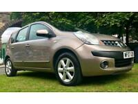 1 OWNER AUTOMATIC 2007 NISSAN NOTE 1.6 PETROL 10 MONTHS MOT EXCELLENT DRIVE 6 MO