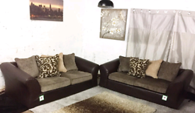 Ex display 3+3 seater sofas