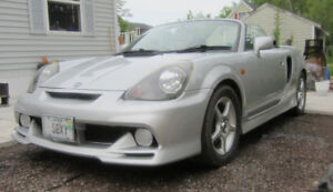 Rare Imported from Japan Toyota MRS similar to the US MR2