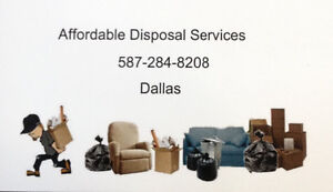 Affordable Disposal Service-Junk&Garbage Removal