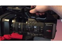 Sony fdr-ax1 4K uhd video camera & flycam
