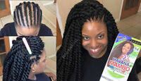 AFRICAN,MAKE YOUR TWIST IN LESS THAN 1 HR FOR REASONABLE AMOUNT