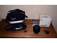 Nikon 1 lens VR30 - 110 and Nikon 1 bag