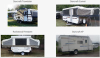 Camping Trailer Rentals in Omemee