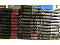 31 volumes of the Encyclopedia Britannica