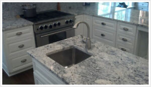 ***Granite & Quartz - Buy with installation $38 p/sqft***