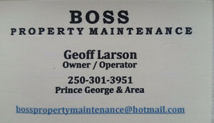 Fall Clean Up Services Prince George British Columbia image 1