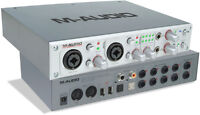 M-Audio 410 Sound Card his studio for professional High Letency