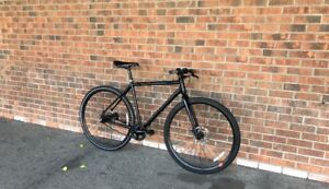 Raleigh Single Track Hybrid Road Bike(medium heights)