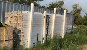 Vinyl fence parts for sale - must go