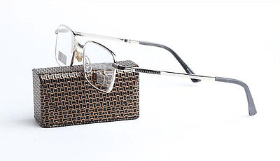 Silver Coated Frame - Quality Silver Metal Frame Folding Coated Lens Reading Glasses New +1.00~ +4.00