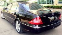 2003 Mercedes S500 AMG Long, Navigation,Rear Heated Seats,Safety