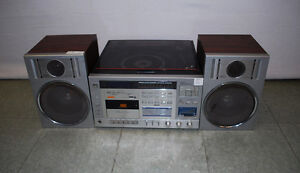Vintage Sears Record Player/Cassette Player Stereo