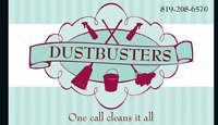 One call cleans it all!!! We use more than glass cleaner