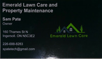 Emerald lawn and Property Maintenance