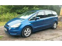 2008 FORD S-MAX 2.0TDCi (140ps) BLUE 7 SEATER MPV 7 SEATS 5DR DIESEL NEW CLUTCH