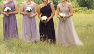4 Bridesmaid Dresses 120$ each OBO