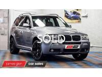 2007 57 BMW X3 2.0 D M SPORT 5D 175 BHP DIESEL