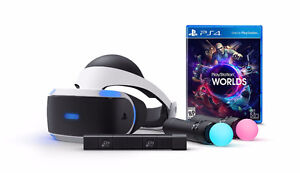 ** PSVR Launch Bundle w/ Batman VR Game ** (Like NEW condition)