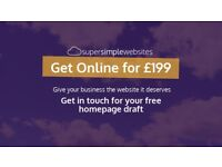 Super Simple Websites - 5 Page Site just £199 - Low Cost Webdesign - Glasgow Web Designer