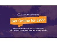 Super Simple Websites - 5 Page Site just £299 - Low Cost Webdesign - Glasgow Web Designer
