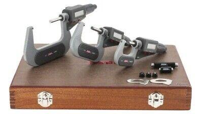 11-553-5 Spi Digital Micrometer Set 0-3 Wcert