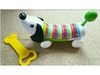 LeapFrog Alpha Pup / pull along toy puppy / alphabet