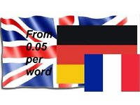 German - French - English Translator