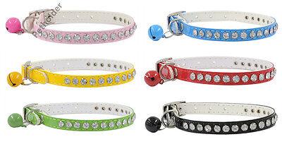 Wholesale lot 24 Bling dog collar crystal diamonds cat puppy pet pu leather