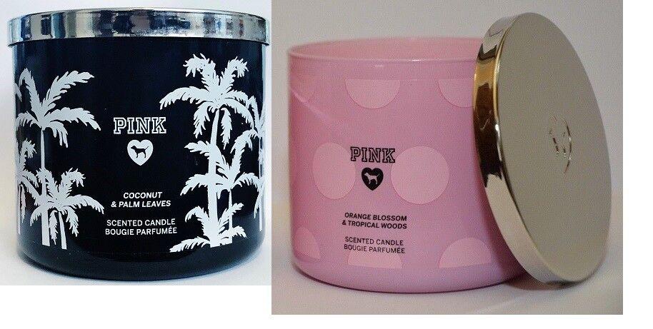 4bbdf5d0416c3 Декоративная свеча Victoria's secret Pink 3-Wick Candle 14.5 oz * LIMITED  EDITION***PICK/SCENT**