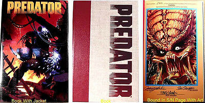 Predator Volume 1 Signed & Numbered Ltd Ed Hard Cover Book 1st  Print New 1990