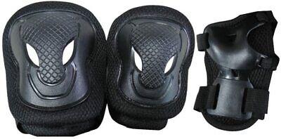 Nextreme Set Protezioni Senior Ginocchiere Gomitiere e Parapolsi Pattini Bici