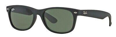 Ray-Ban Herren Damen Sonnenbrille RB2132 622 55mm NEW WAYFARER schwarz S L4