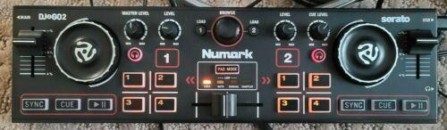 NUMARK DJ2GO2 TOUCH COMPACT 2 DECK USB DJ CONTROLLER Awesome shape
