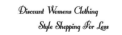 Discount Womens Clothing