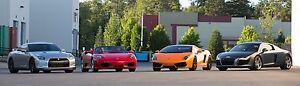 Looking to buy a Lamborghini, GT-R, Ferrari, Or R8