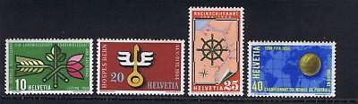 Switzerland - 1954 Sc. 347-350, Tourist Publicity