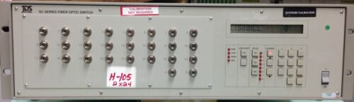 Jds Fitel Sc24b5-e2fp Sc Series Fiber Optic Switch  2x24